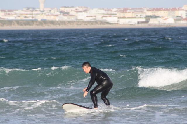 Vågsufning i Portugal