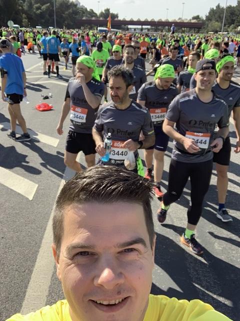 Väntan på den 29de Halvmaraton i Lissabon