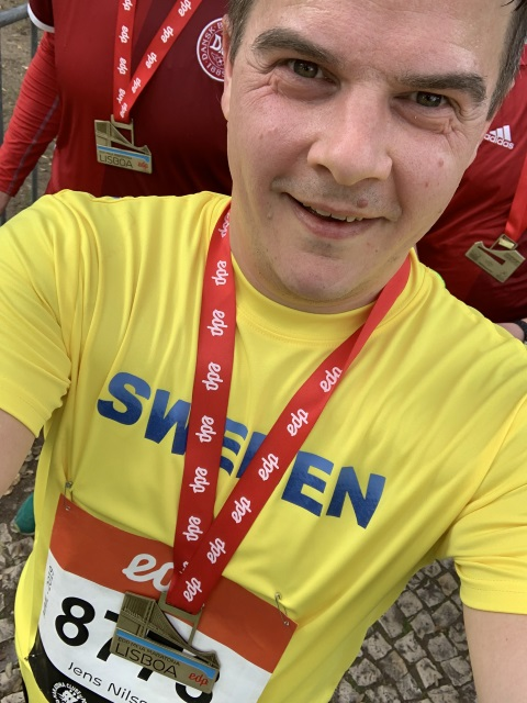 Halvmaraton i Lissabon 2019